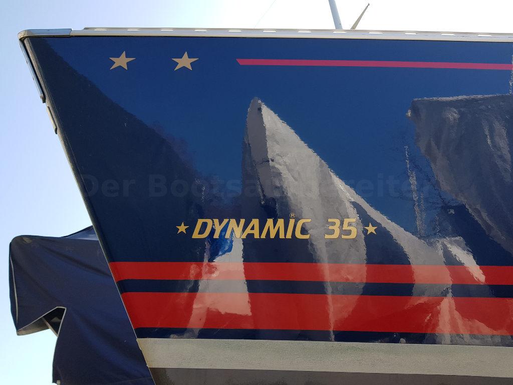 Bootsservice-Zengerle - Der Bootsaufbereiter Polieren Aufbereiten Dynamic35 Bordwand